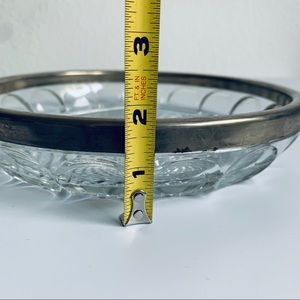 Vintage Dining - Vintage Crystal Tray Dish